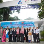 Visite Ministérielle Suisse au Laboratoire CARE juin 2014