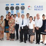 Visite d'une délégation de l'Institut de recherche pour le développement (IRD) au Centre Asiatique de la Recherche sur l'Eau – Laboratoire Conjoint CARE